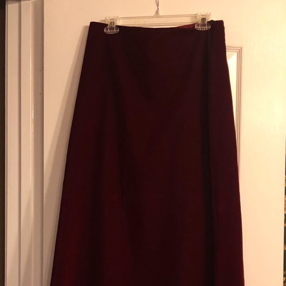 ALFRED SUNG Dresses & Skirts - velvet formal A line skirt with strapless top